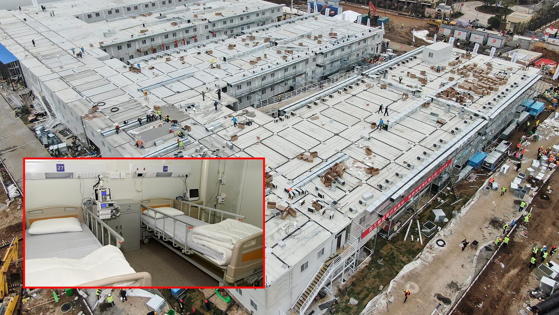 Строительство больницы в Ухане